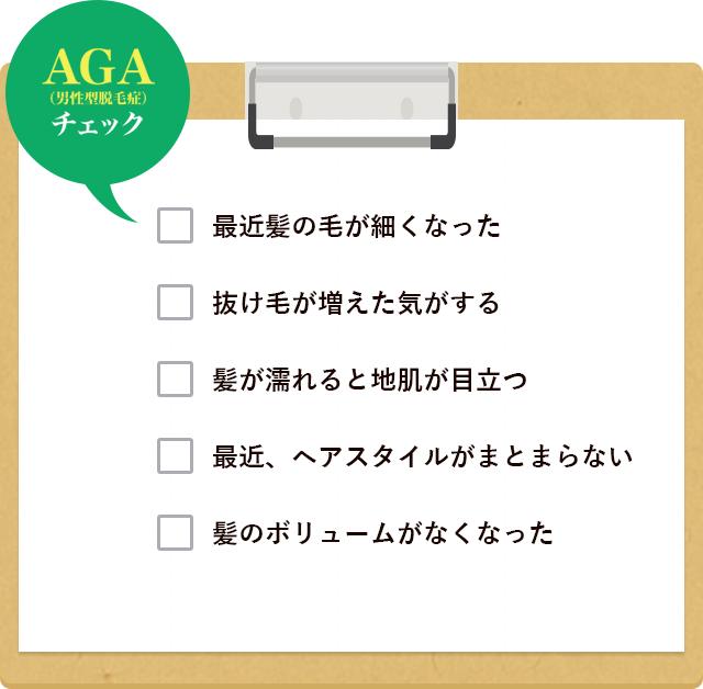 AGA チェックリスト